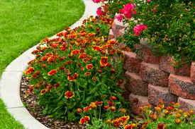 flower bed in mckinney, tx